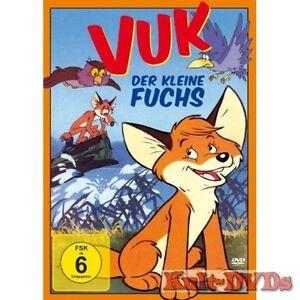 Vuk-Der-kleine-Fuchs-DVD-Zeichentrick-Neu-OVP