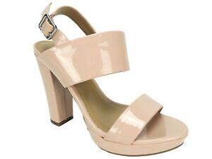 80052bcfc0f Report Women s Lawren Two-Piece Platform Sandals Pink Patent Size 7 ...