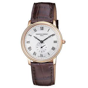 Frederique-Constant-Slimline-Quartz-Movement-Silver-Dial-Ladies-Watch-FC-235M4S4