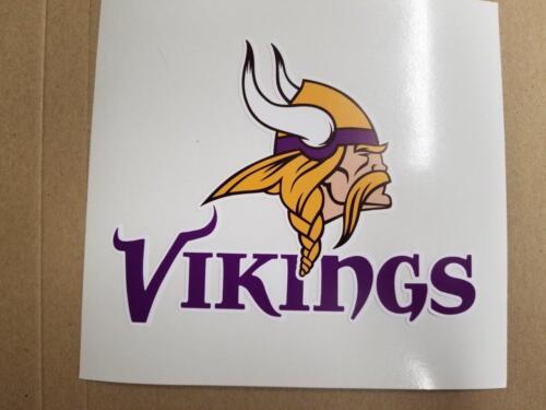 Minnesota Vikings cornhole board or vehicle decal(s)