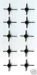 10 TRANSISTORS MOS-FET DOUBLE PORTE ( TETRODE ) BF980