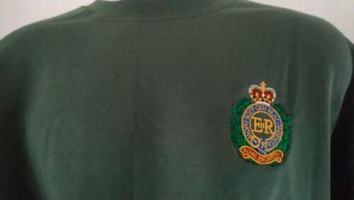 BRITISH ARMY ROYAL ENGINEERS SWEATSHIRT