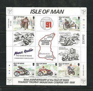 O) 1991 ISLE OF MAN, MOTORCYCLE, TOURIST TROPHY MOUNTAIN, COURSE, OLIVER GODFREY