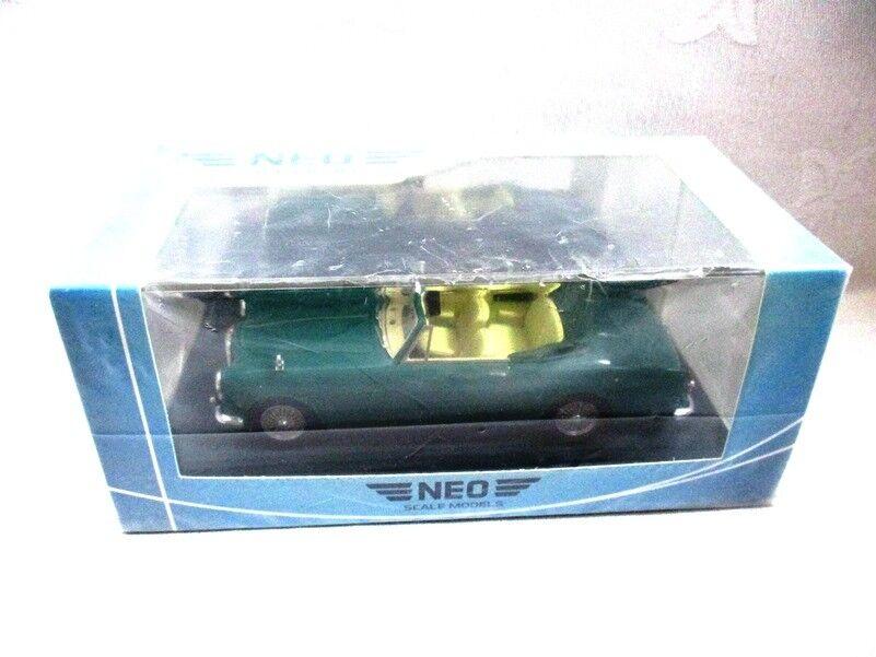 Alvis TD21 DHC converdeible verde RHD Neo 43423