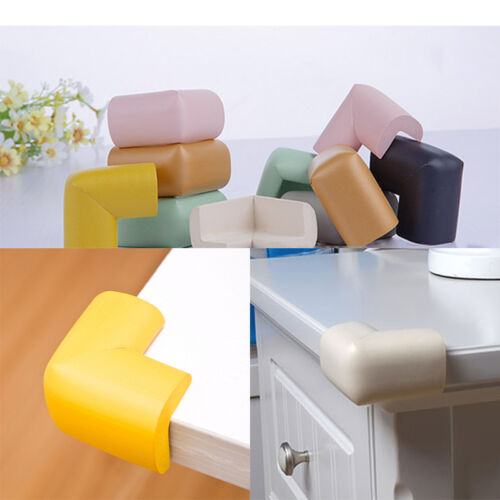 4 x Toddler Baby Kids Safety Foam Sponge Corner Table Edge Protector Guard