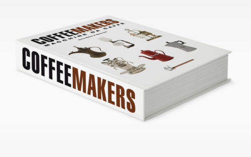 Coffeemakers Hard Cover Book By E.Maltoni-776 pages-2700 images-Mint!!