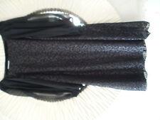 Monsoon Black Tunic Dress ...3/4 Sleeves.... Size 16