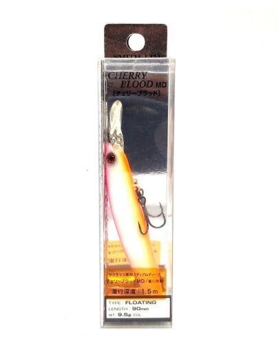SMITH LTD CHERRY BLOOD MD90 FLOATING JAPAN FISHING Lure 90mm 9.5g More Colors