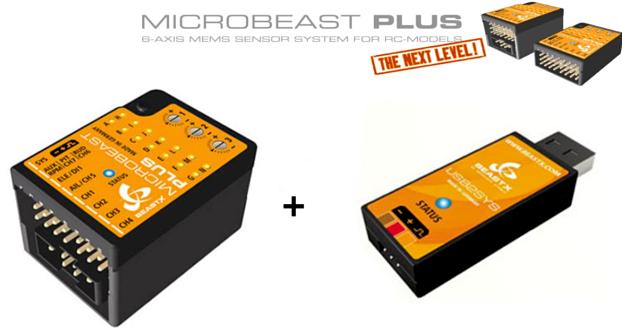 MICROBEAST Plus HD + USB2SYS Combo  - RC Heli Flybarless System  con il prezzo economico per ottenere la migliore marca