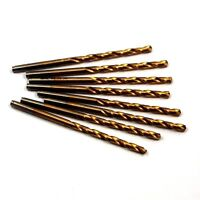 Hertel Cobalt Jobber Drills 1/8 Tin 135d 1-5/8 X 2-3/4 Qty 8 -8680e254
