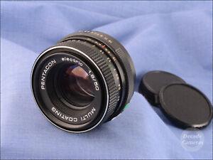 M42 Mount Pentacon Electric MC 50mm f1.8 Standard Prime Lens - VGC - 768