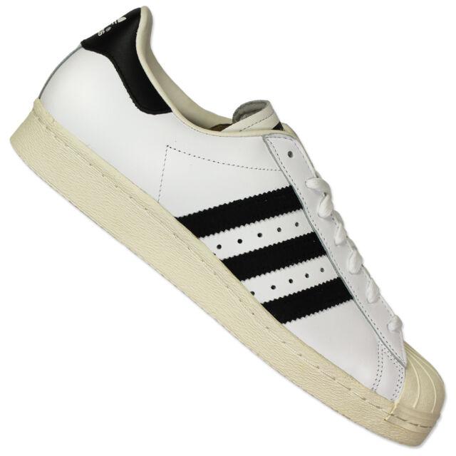 adidas Originals Superstar 80s Shoes Trainers White G61070 9