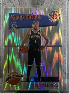 Kevin Durant 2019-20 NBA Hoops Premium Stock Tribute Flash Prizm