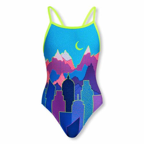Funkita Girls Badeanzug Schwimmanzug Single Strap Metropolis Mädchen