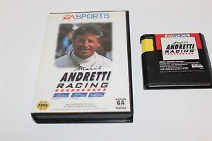 SEga-Mega-Drive-Mario-Andretti-Racing-Game