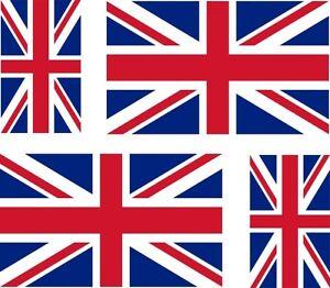 4x-sticker-Adesivo-Adesivi-uk-inglese-gran-bretagna-Vinyl-auto-moto-bandiera