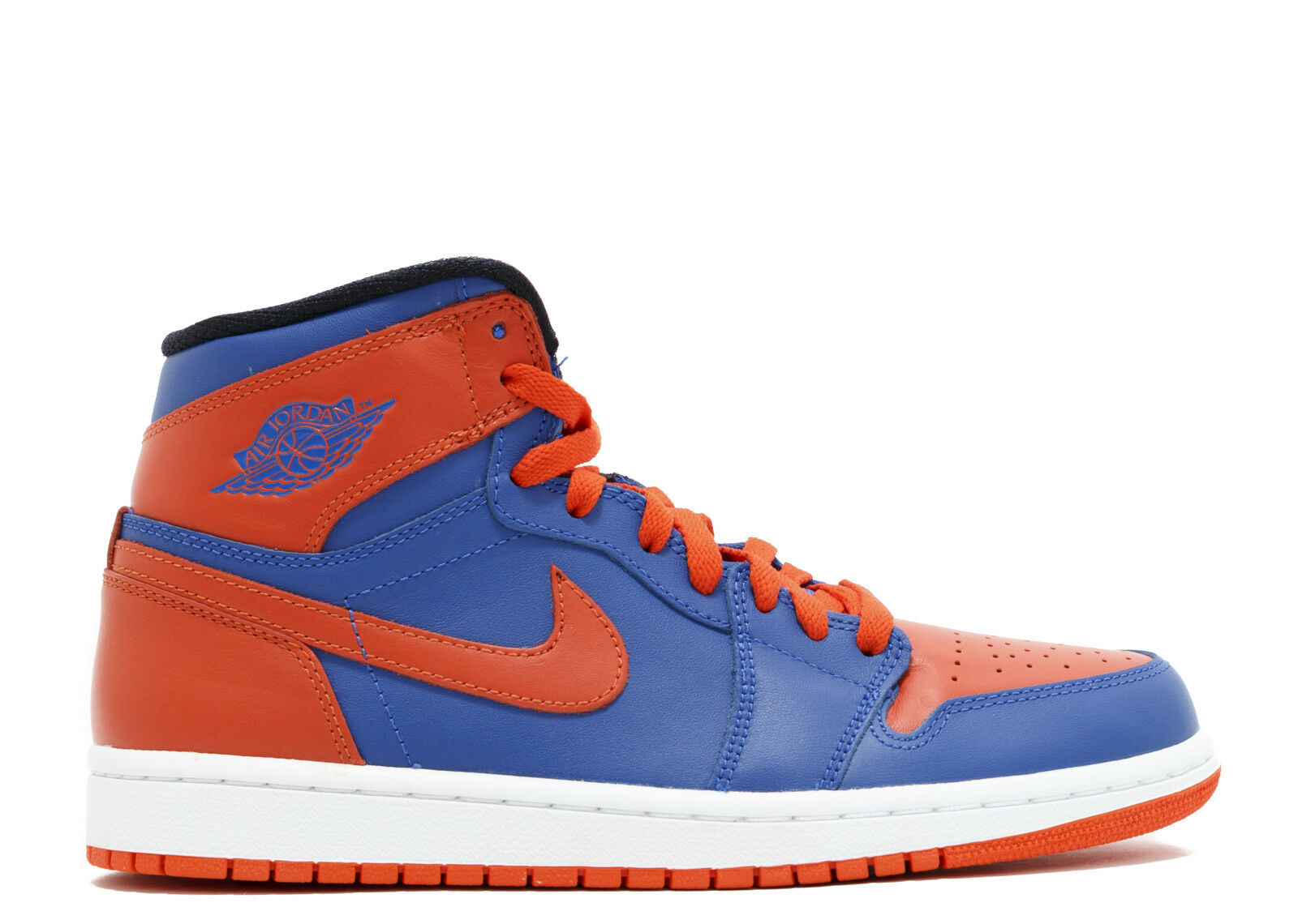 NIKE AIR JORDAN 1 Retro High OG OG OG KNICKS bROT toe off Weiß top EU 45/US 11NEW f9fac5