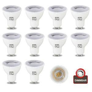 LED Leuchtmittel Reflektor GU10 6W 250lm 3000K Lampe Spot Strahler dimmbar