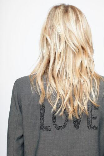 NWT Zadig & Voltaire Viva Bis Love Jacket Blazer SIZE 34, 36