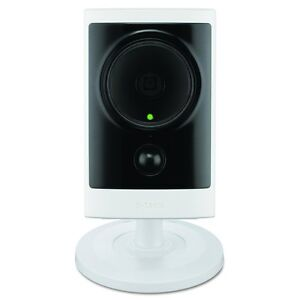 NEW-D-Link-PoE-IP-1-MP-HD-HD-720p-Cube-Indoor-Outdoor-Camera-with-Remote-Viewing
