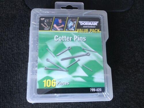 NEW Dorman 106 pcs cotter pin assortment 799-420