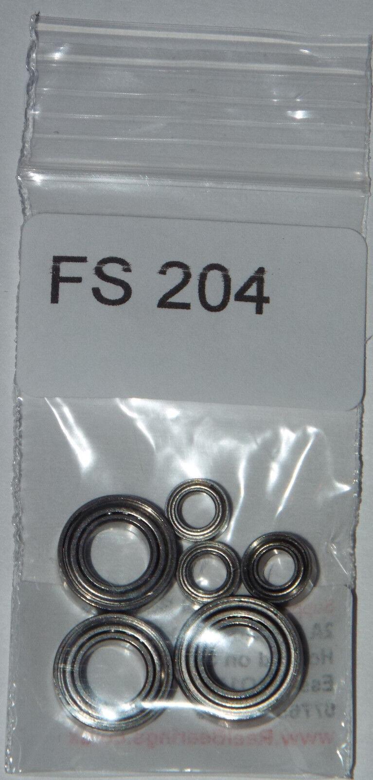 SHIMANO AERNOS 2500 / Cuscinetto 3000fa Cuscinetto / Set Upgrade ABEC7 IN ACCIAIO INOX (FS 204) c800a9