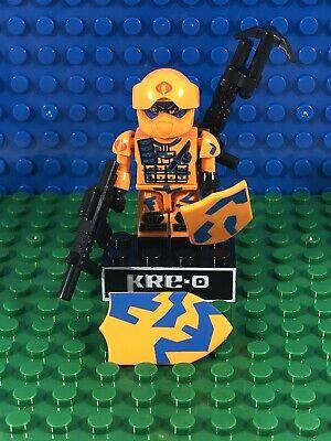 Cobra Alley Viper KRE-O Rare Series 1 Minifigure GI Joe Kreo Kreon