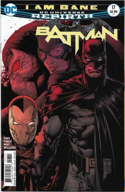 Batman (Rebirth) #17 - VF/NM - I Am Bane / Catwoman