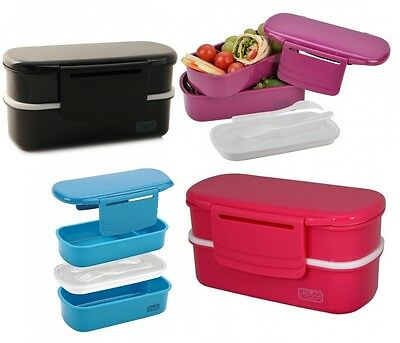 Bento Lunch Box with Chill Pack Sandwich Salad Food Container