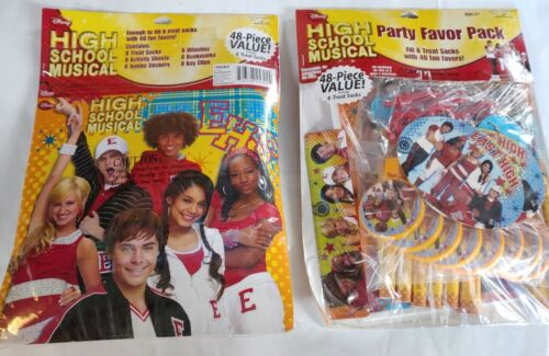 High School Musical Disney 48 piece party favor pack New Free Shipping