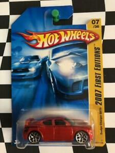 Hot Wheels 2007 New Models FE 007 Dodge Charger SRT8 Burnt Orange Y5