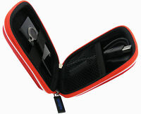 Red Hard Case Cover for Flip Video Ultra HD Camera