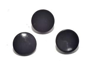 Shutter Soft Release button Set Metal Flat/Concave/Convex Black