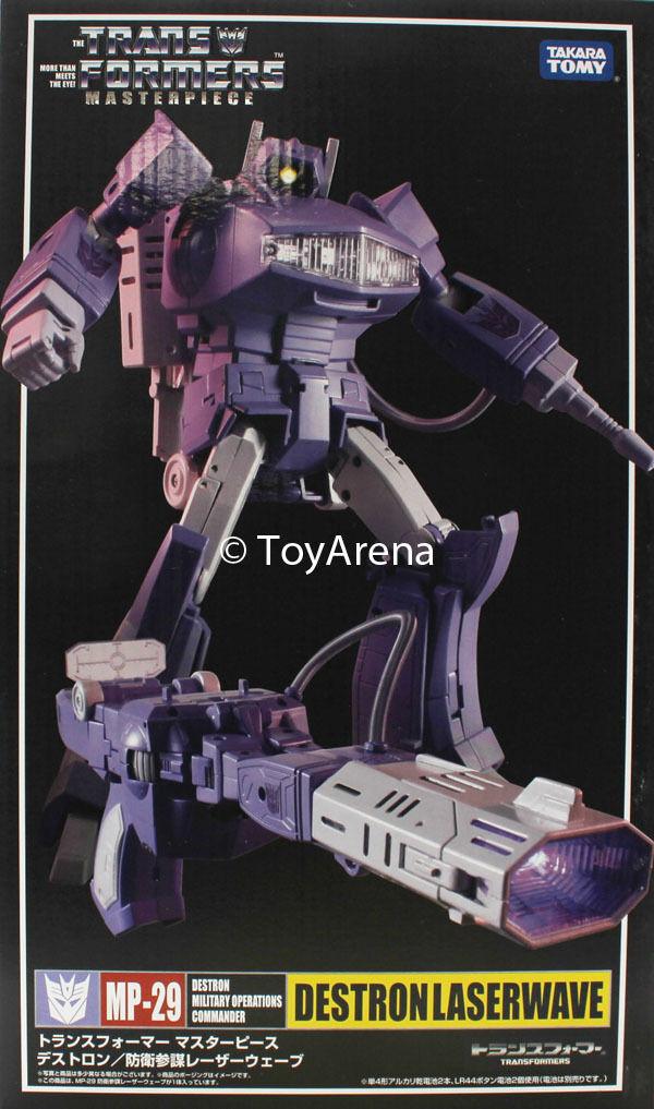 Transformers Masterpiece MP-29 Shockwave (Laserwave) Figura de Acción vendedor de EE. UU.