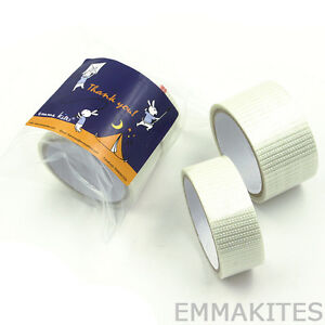 31ft Kite Sail Repair Tape Patch Filament Tape Airtight Waterproof One Roll 1.9""