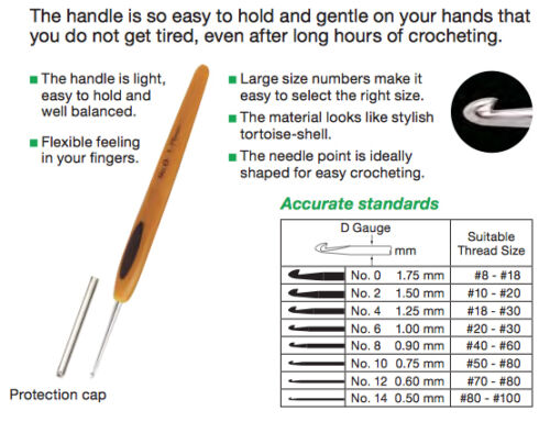 Clover Soft Touch Individual Hooks and Sets of Hooks