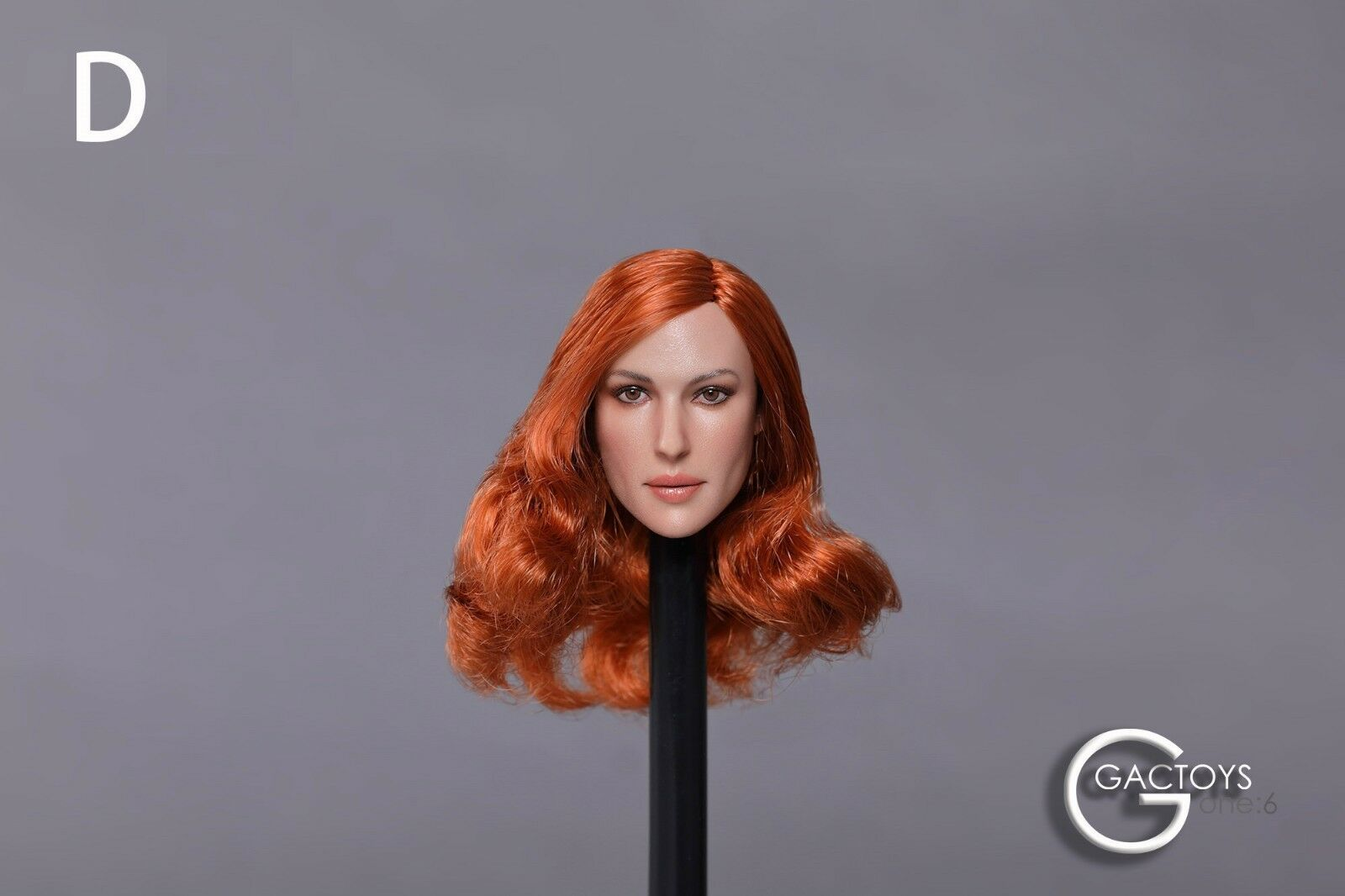 1 6 Female Head Sculpt For For For 12  Figure Hot Toys PHICEN Verycool GC020 D  USA  39f154