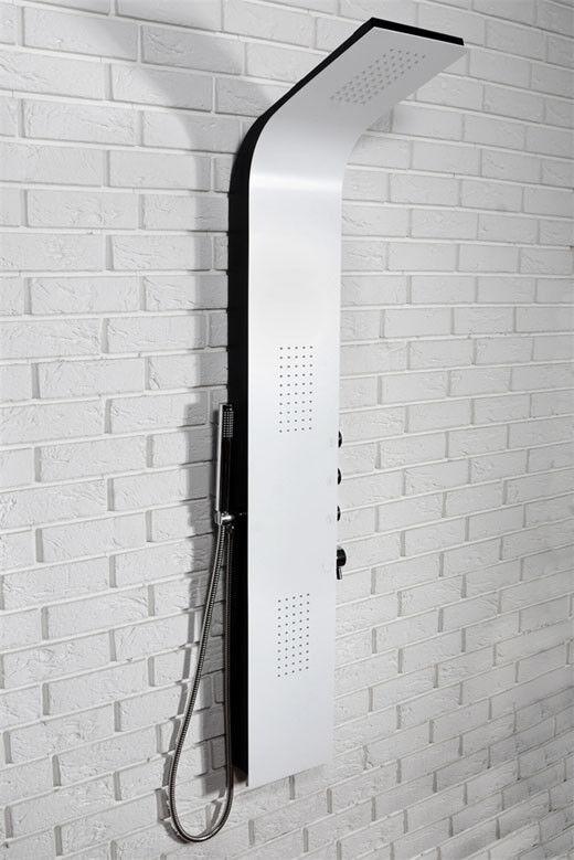 Panello meraviglioso colonna doccia Bianco 9780 REA