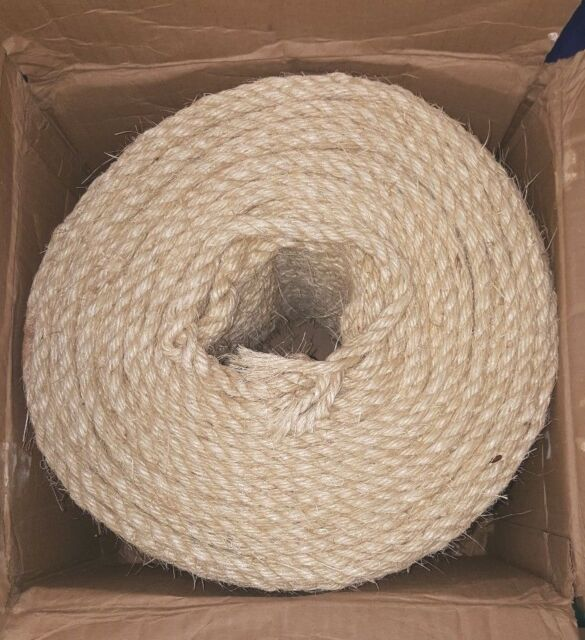 T W Evans Cordage Rope 23-400 3/8-Inch By 732-Feet Twisted Sisal