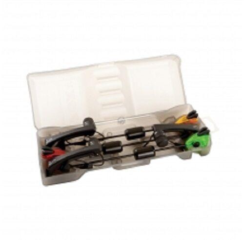 Fox Iluminado Euro Swinger 3 conjunto de presentación de la barra MK2 Para Pesca De Carpa