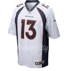 Details about Men's Denver Broncos Trevor Siemian Nike White Game Jersey