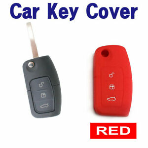 CAR-KEY-COVER-CASE-Fits-Ford-Falcon-Mondeo-Focus-Territory-FG-XR6T-XR5-FPV-RED
