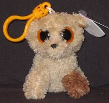 6ba1c77a2c4 Ty Beanie Boo Rootbeer Dog Clip 2011 Retired RARE Solid Orange Eyes MWMT