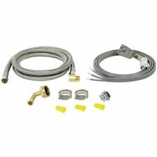 Certified Appliance Universal Dishwasher Instal Kit, Electric/Water Conn.