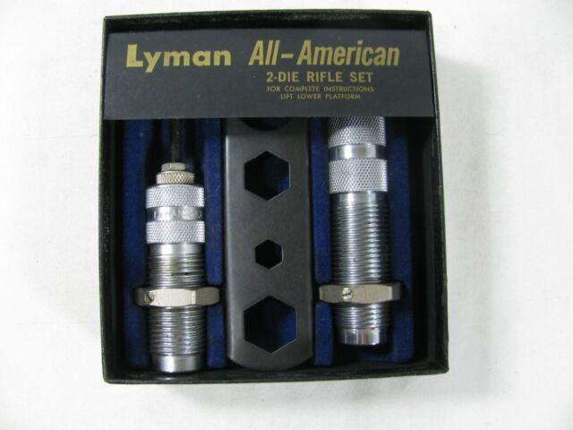 Lyman All American Reloading Dies (2 Die Set) 243 Win
