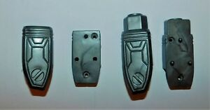 TRANSFORMERS SHOCKWAVE G1 TOYCO 1st édition PARTS RIGHT & LEFT CASING FOREARM