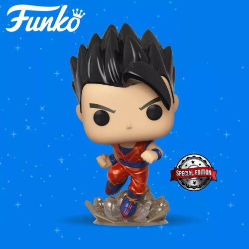 Dragon Ball Super Gohan Metallic Funko Pop Vinyl Figure **PRE-ORDER**