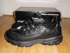4f79f0987586 Details about NEW Women s Size 11 Skechers D Lites SR-Marbleton Work Shoes  Black Slip E H