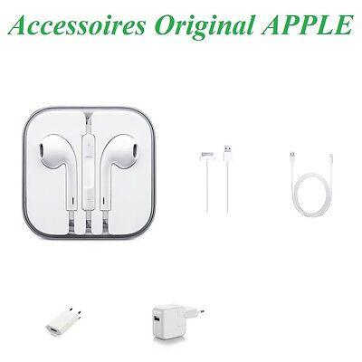 CÂBLE USB / CHARGEUR / ÉCOUTEUR ORIGINAL ORIGINAUX APPLE / IPAD / IPHONE / IPOD