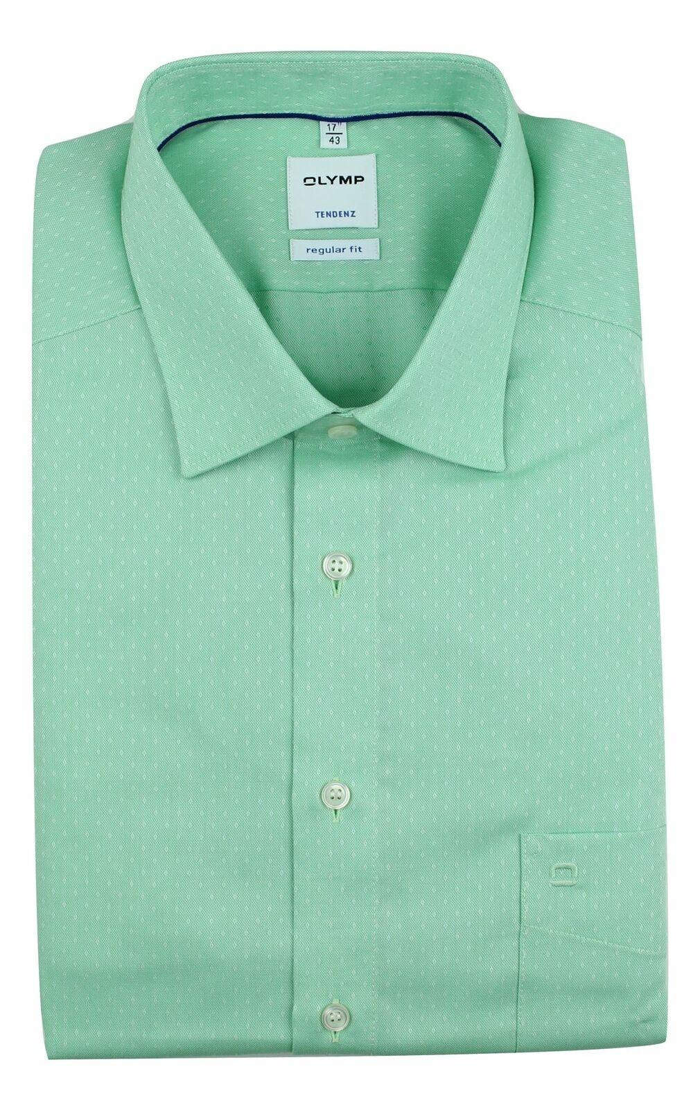 Green Raindrop Spread Collar